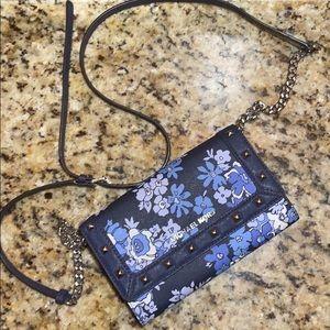 Floral Navy Blue Michael Kors bag!